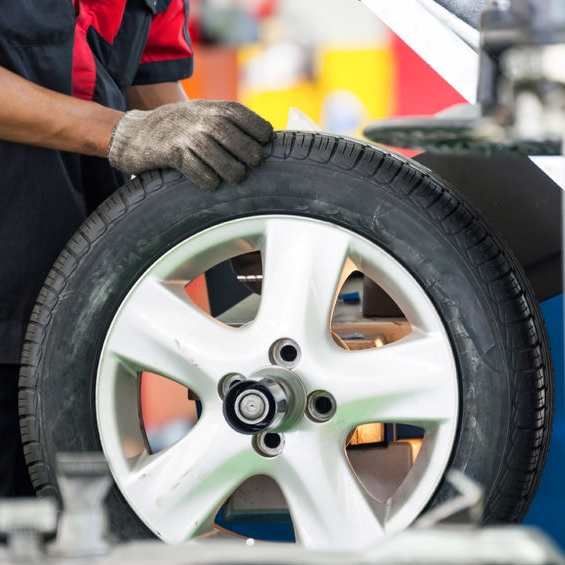 Tire Repair in Chicago at Milito's Gas Station on W. Fullerton - 7 Days a Week
